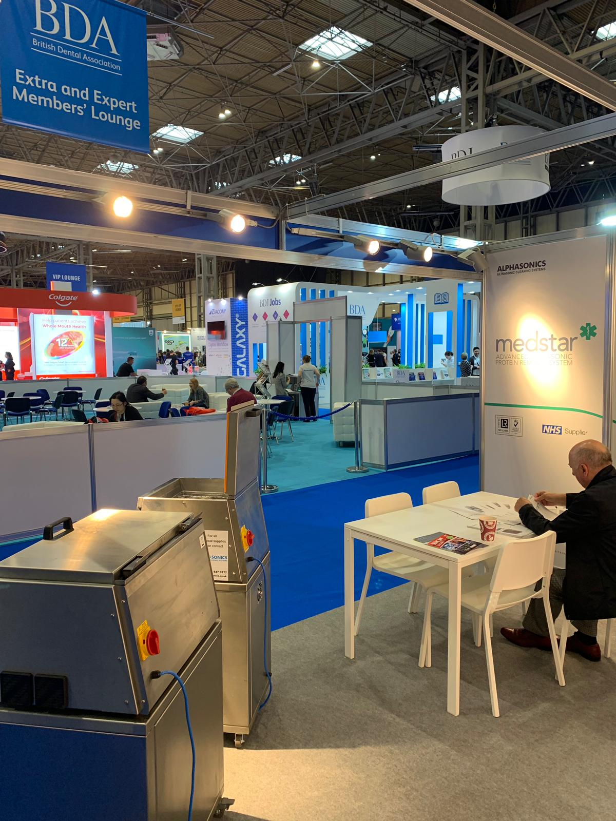 A behind the scenes of the 2019 Dental Show in which Alphasonics exhibted at.