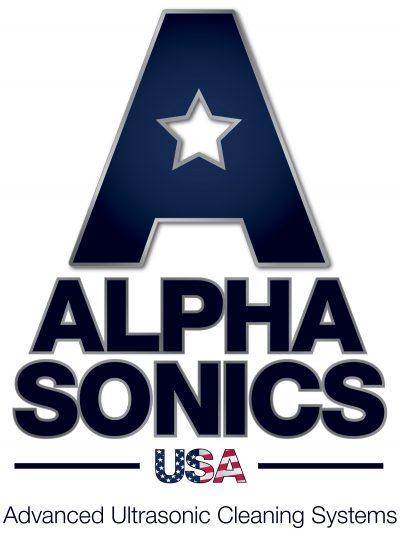The Alphasonics USA Logo.