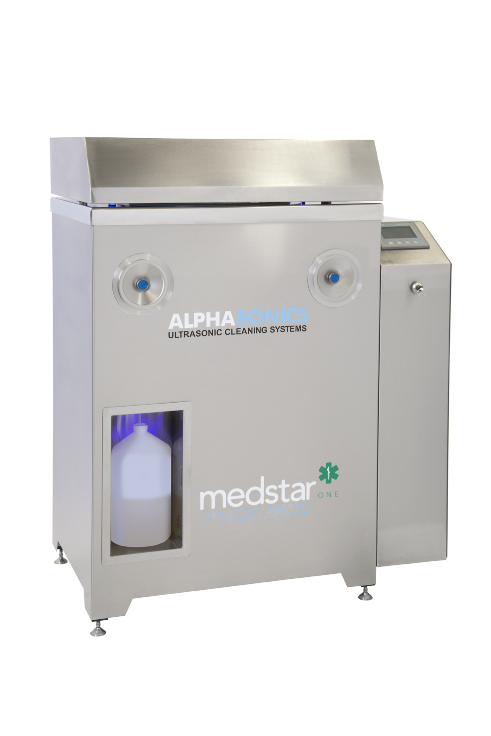 A wide shot of the Medstar system, available from Alphasonics.