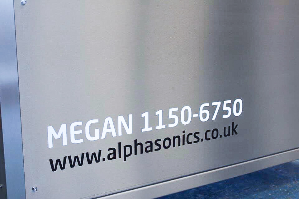 A close up image of the Megan system from Alphasonics.