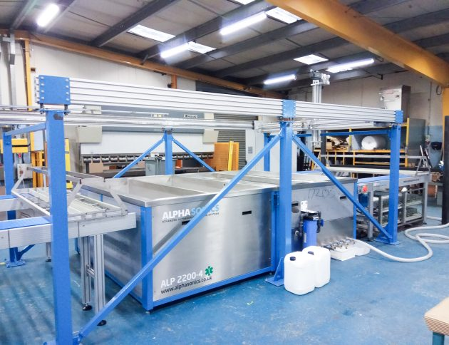A wide shot of a Cannula Tube system, designed specially for a Japanese manufacturer.