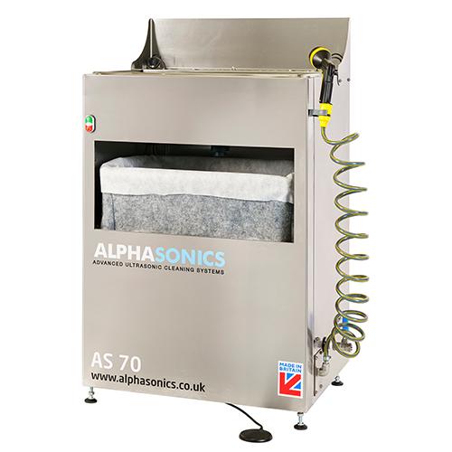 AS70 parts washing machine